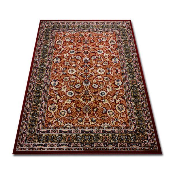 Klasyczny dywan bordowy