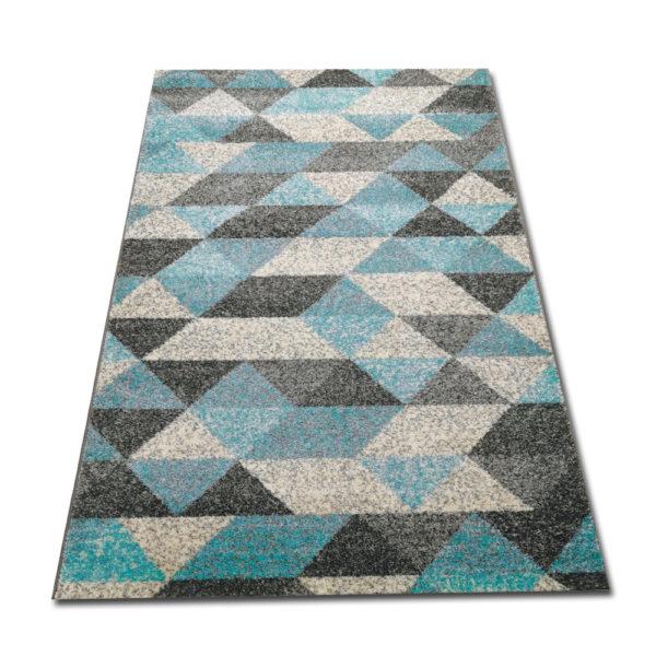 Turkusowy dywan